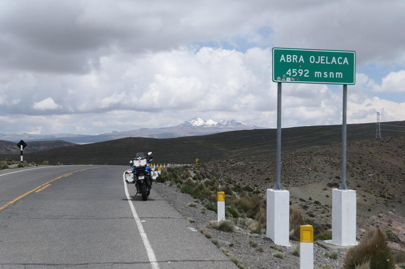 The pass at Abra Ojelaca