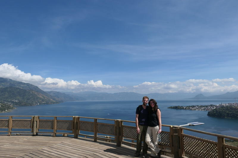 Marianna and I at the mirador