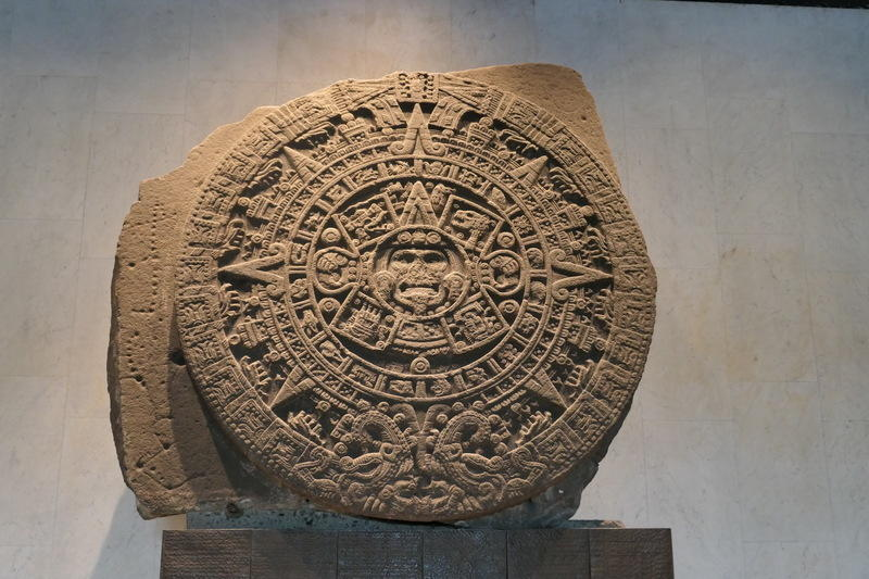 Aztec calendar in the National Museum of Anthropology