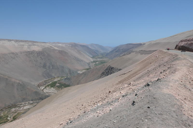 A valley in the Chilean desert