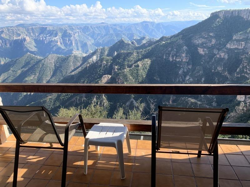 My balcony on the canyon