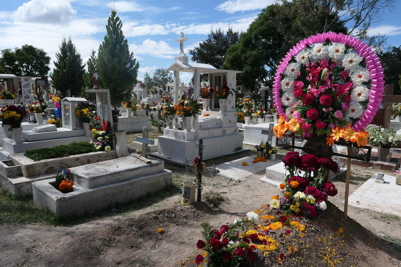 The Dolores cemetery