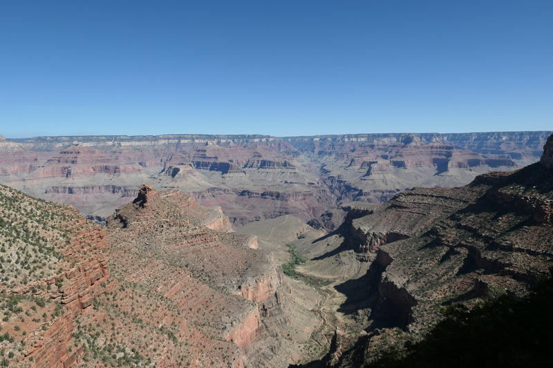 A slice of the Grand Canyon from the rim