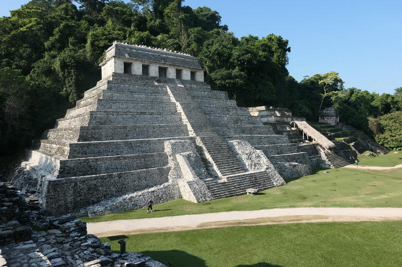 The biggest temples of Palenque