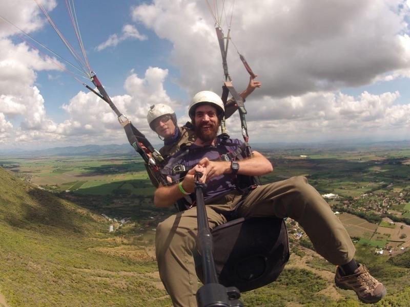 Me paragliding