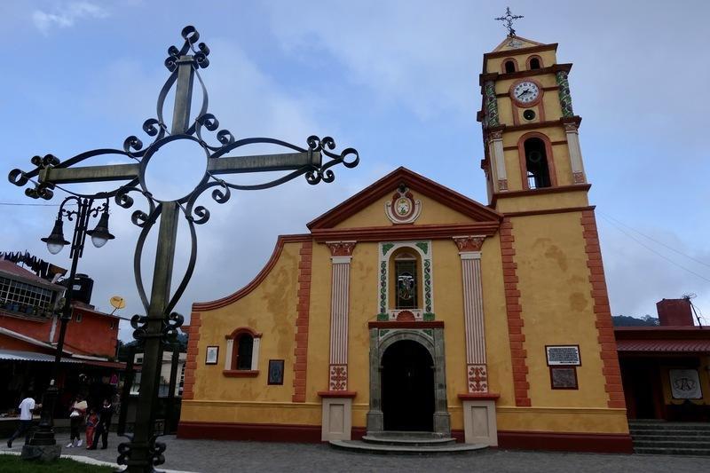 The church in Pinal de Amoles