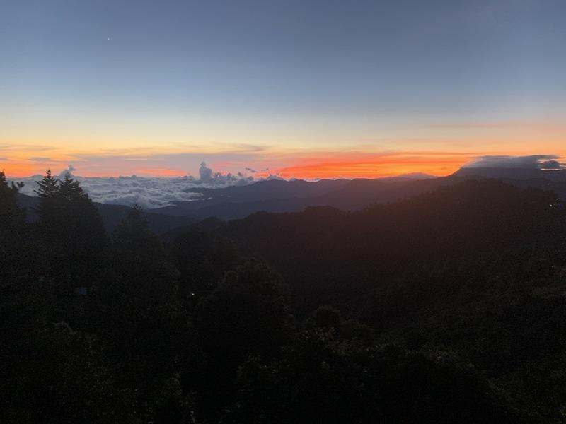 San José sunset