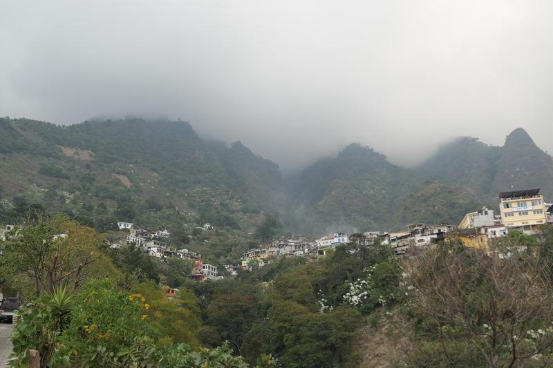 The village of Santa Cruz