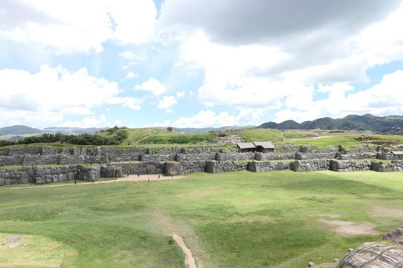 Zig-zag walls of Saqsaywaman