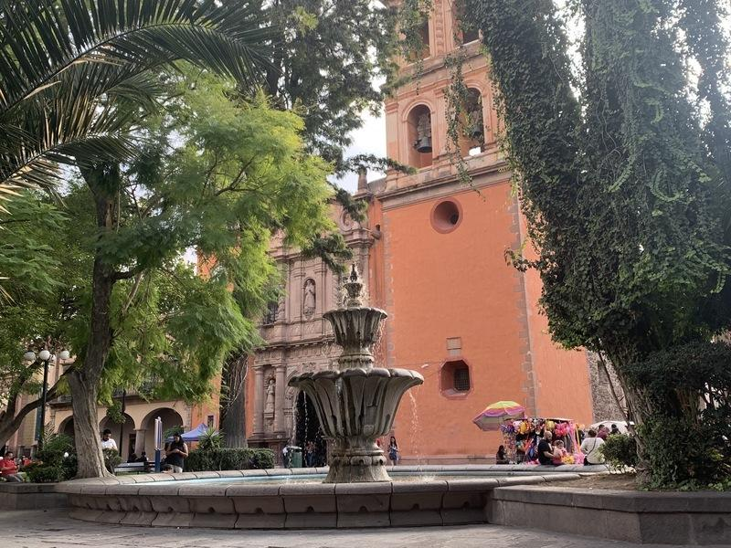 A nice plaza in SLP