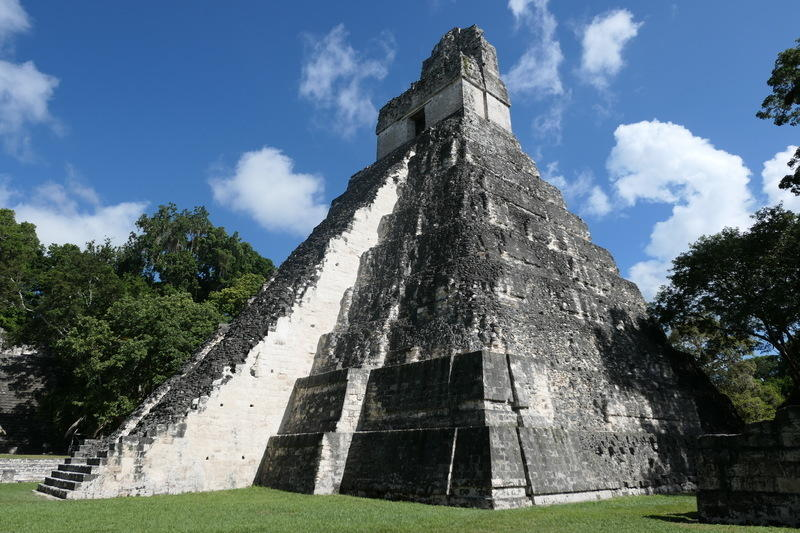 The biggest temple at Tikal