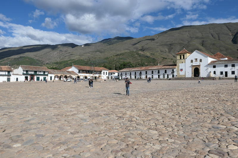 A large town square
